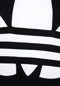 adidas Originals - TREFOIL HOOD - Hoodie - black/white - 2