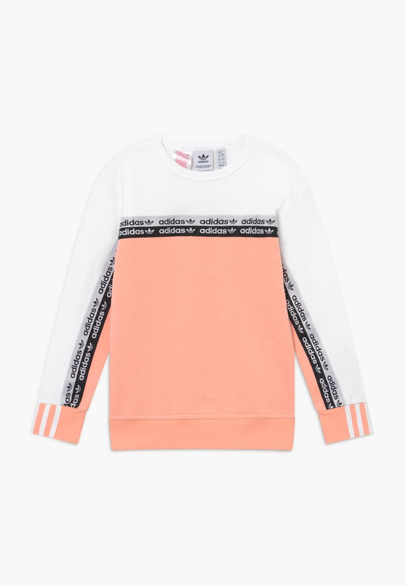 adidas Originals - CREW - Sweatshirt - pink/white