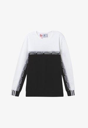 CREW - Mikina - black/white