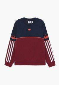 adidas Originals - OUTLINE CREW - Sweater - dark blue - 0