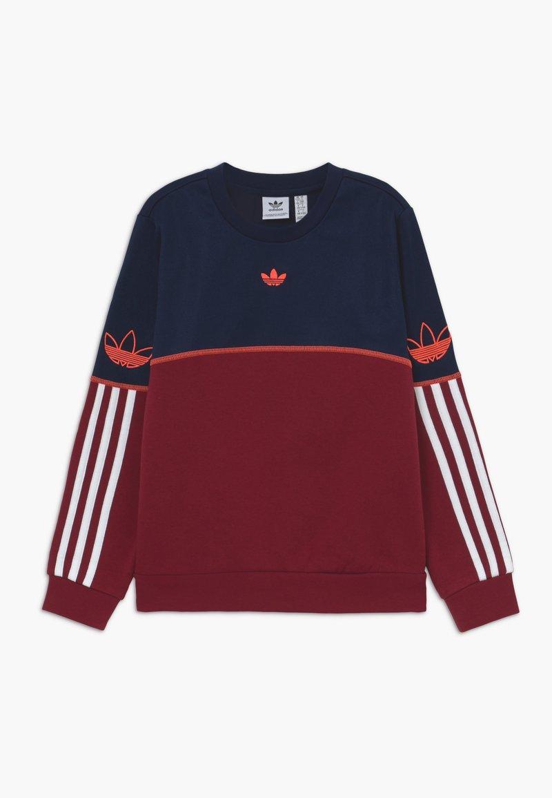 adidas Originals - OUTLINE CREW - Sweater - dark blue