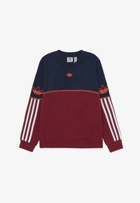 adidas Originals - OUTLINE CREW - Sweater - dark blue - 2