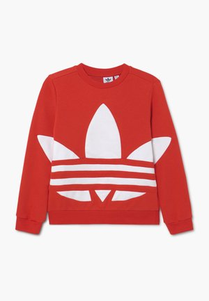 TREFOIL CREW - Sweatshirt - red