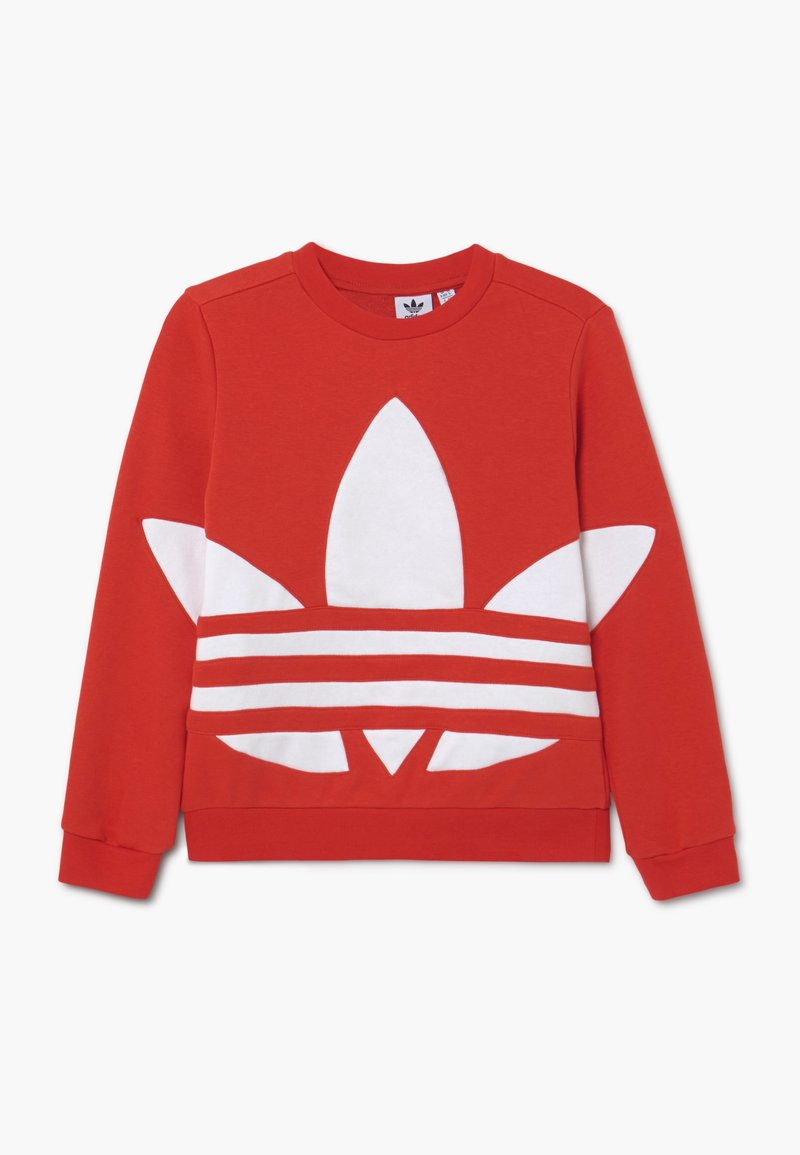 adidas Originals - TREFOIL CREW - Sweatshirt - red