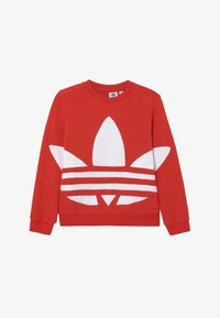 adidas Originals - TREFOIL CREW - Sweatshirt - red - 2