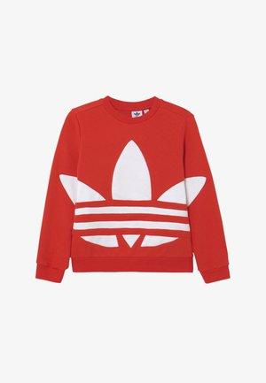 TREFOIL CREW - Sweatshirt - red