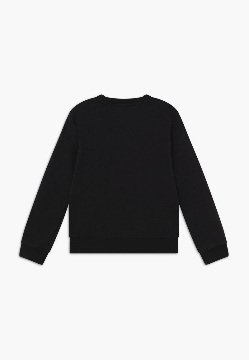 adidas Originals - TREFOIL CREW - Sweatshirt - black/white