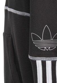 adidas Originals - OUTLINE HOODIE - Hoodie - black - 3