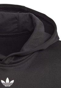 adidas Originals - OUTLINE HOODIE - Hoodie - black - 2