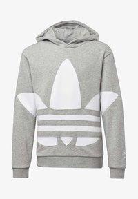 adidas Originals - BIG TREFOIL HOODIE - Hoodie - grey - 0