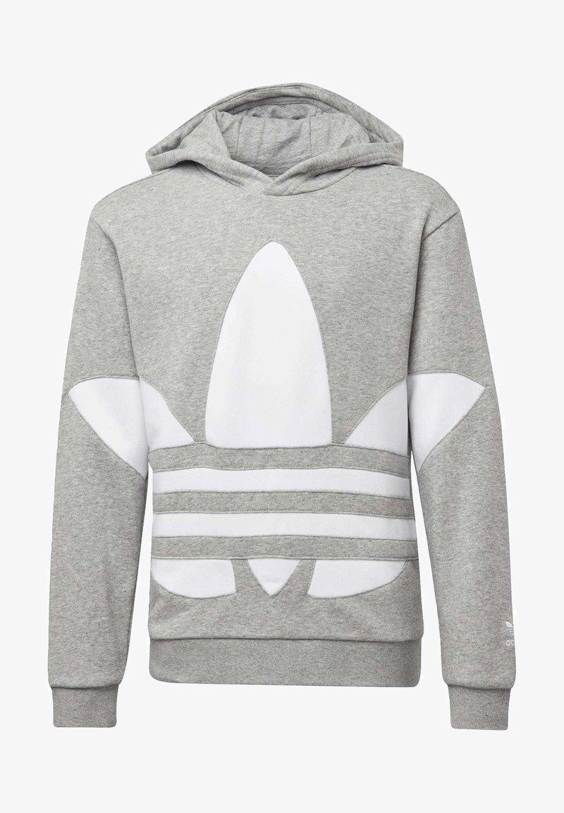 adidas Originals - BIG TREFOIL HOODIE - Hoodie - grey