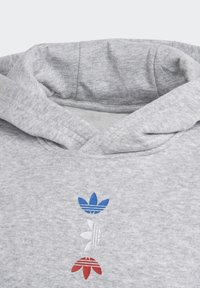 adidas Originals - LARGE LOGO HOODIE - Luvtröja - grey