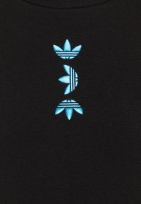 adidas Originals - LOGO CREW - Felpa - black/royal blue - 2