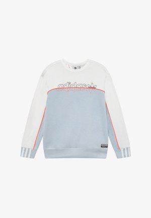 CREW - Sweatshirt - skytin/white