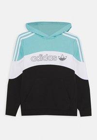 adidas Originals - HOODIE - Sweatshirt - bluspi/white/black - 0