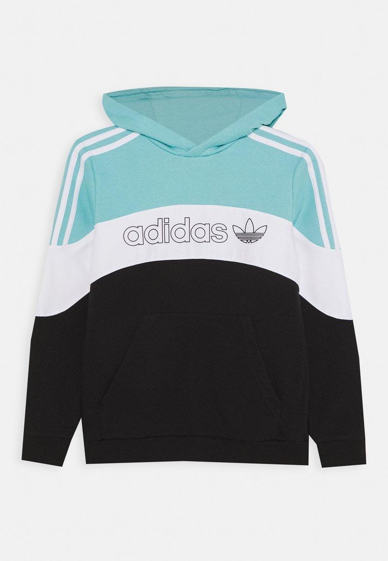 adidas Originals - HOODIE - Sweatshirt - bluspi/white/black