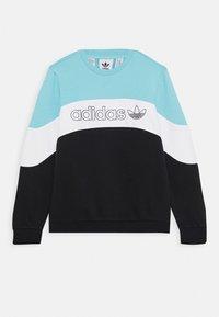 adidas Originals - CREW - Sweatshirt - blue/white/black - 0