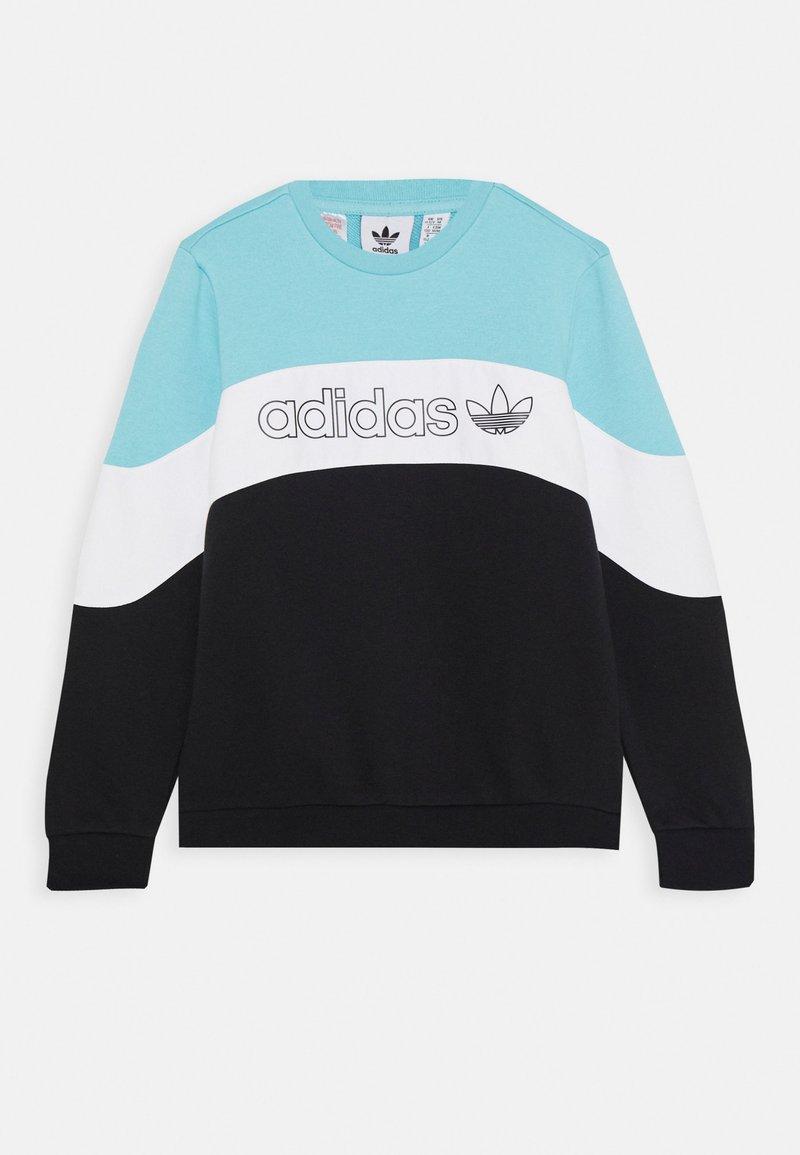 adidas Originals - CREW - Sweatshirt - blue/white/black