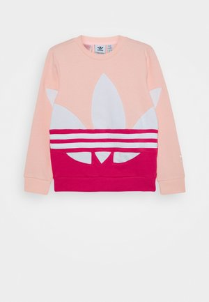 BIG CREW - Sweater - haze coral power pink/white