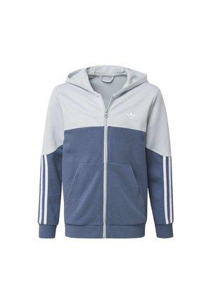 OUTLINE HOODIE - veste en sweat zippée - grey