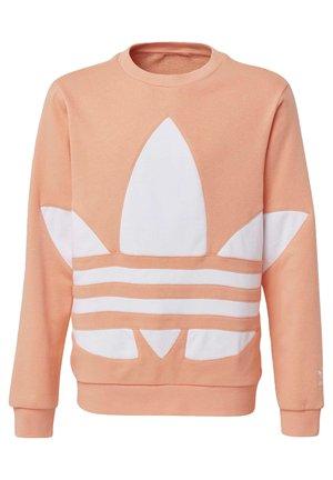BIG TREFOIL CREW SWEATSHIRT - Sweatshirt - orange