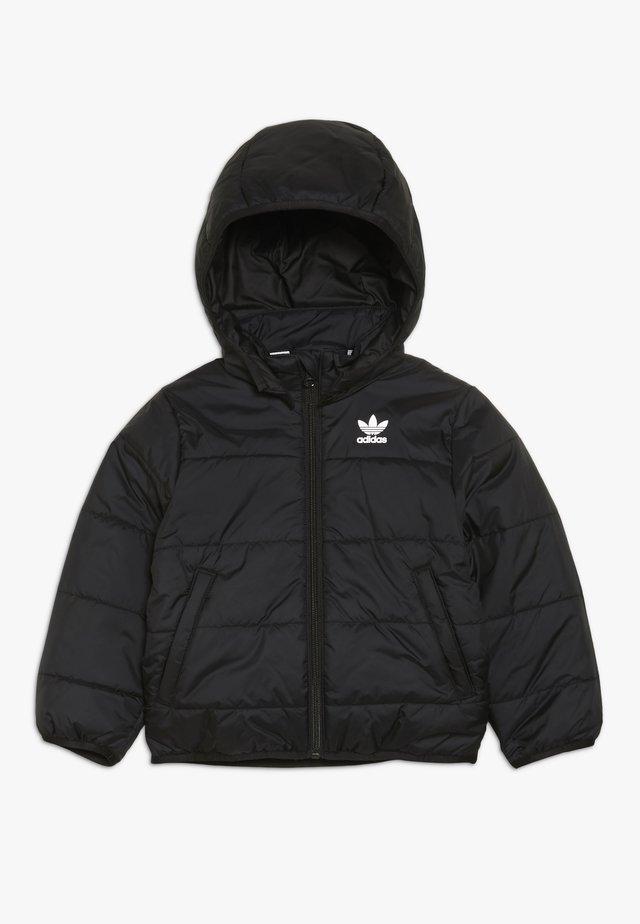 JACKET - Winter jacket - black/white