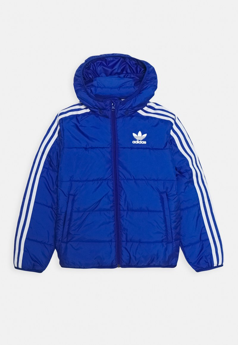 adidas Originals - PADDED JACKET - Chaqueta de invierno - royal blue/white