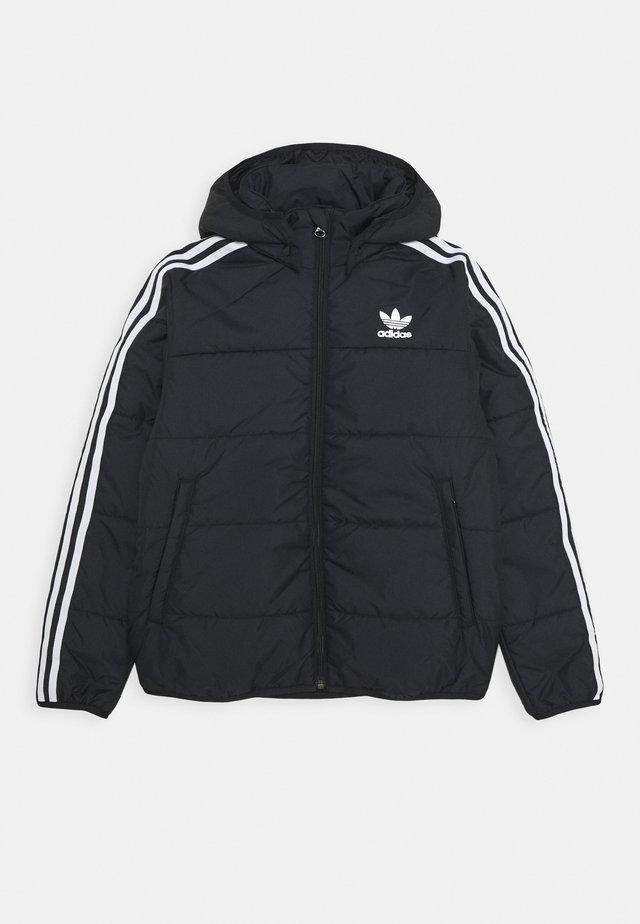 PADDED JACKET - Winter jacket - black/white