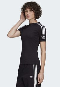 adidas Originals - TIGHT T-SHIRT - T-shirt print - black - 2
