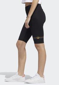 adidas Originals - PRIDE BIKE SHORTS - Legging - black - 2