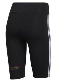 adidas Originals - PRIDE BIKE SHORTS - Legging - black - 9