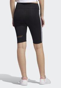 adidas Originals - PRIDE BIKE SHORTS - Legging - black - 1