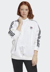 adidas Originals - HOODIE - Bluza - white - 0
