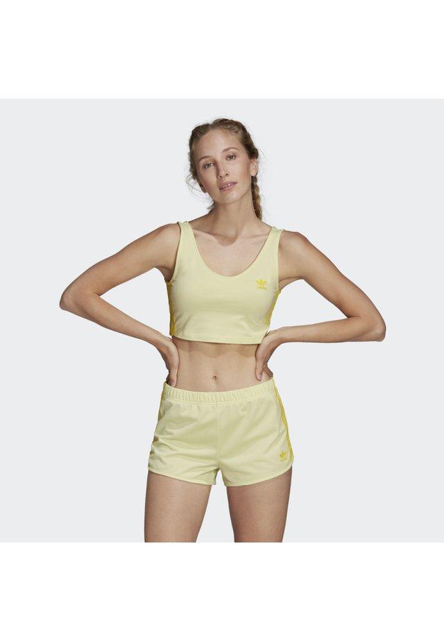BRA TOP - Biustonosz sportowy - yellow