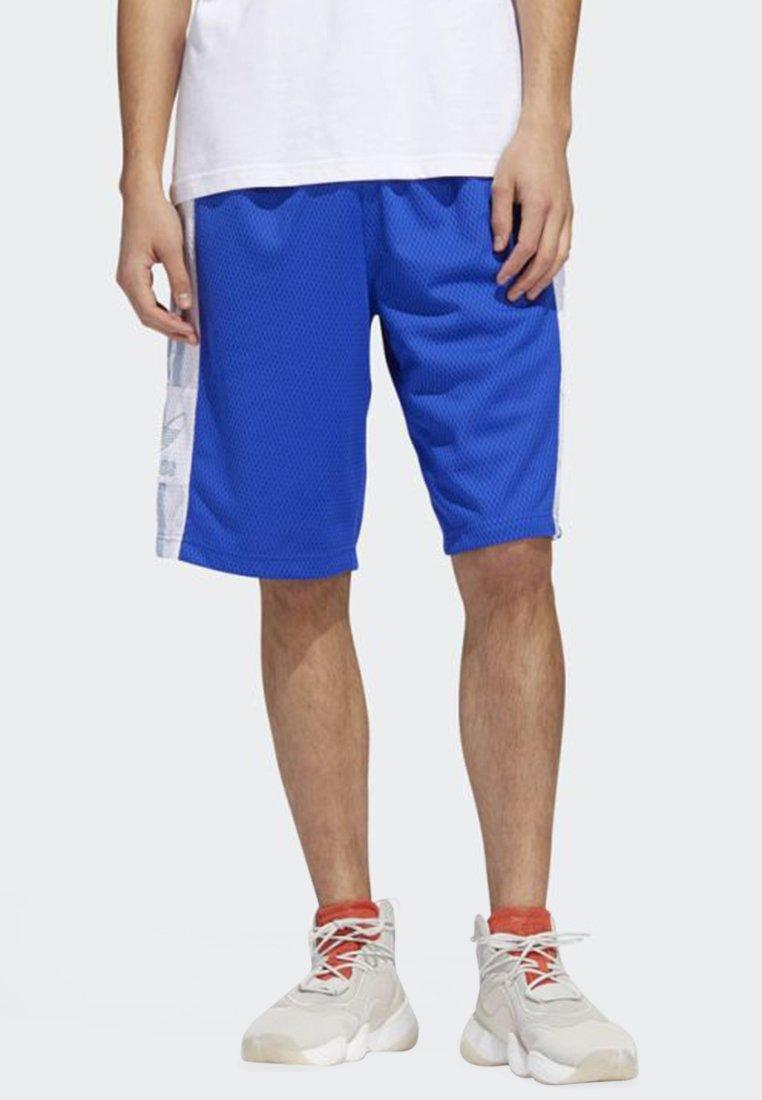 adidas Originals - OUTLINE SHORTS - Shorts - blue