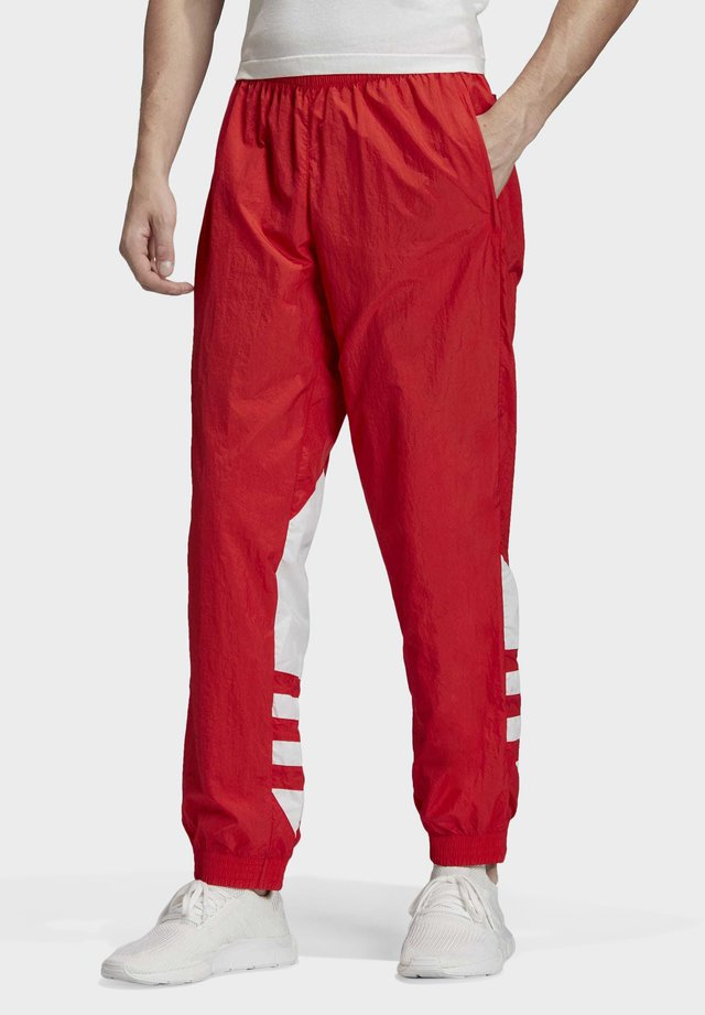 BIG TREFOIL TRACKSUIT BOTTOMS - Pantaloni sportivi - red