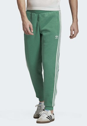 3-STRIPES JOGGERS - Tracksuit bottoms - turquoise