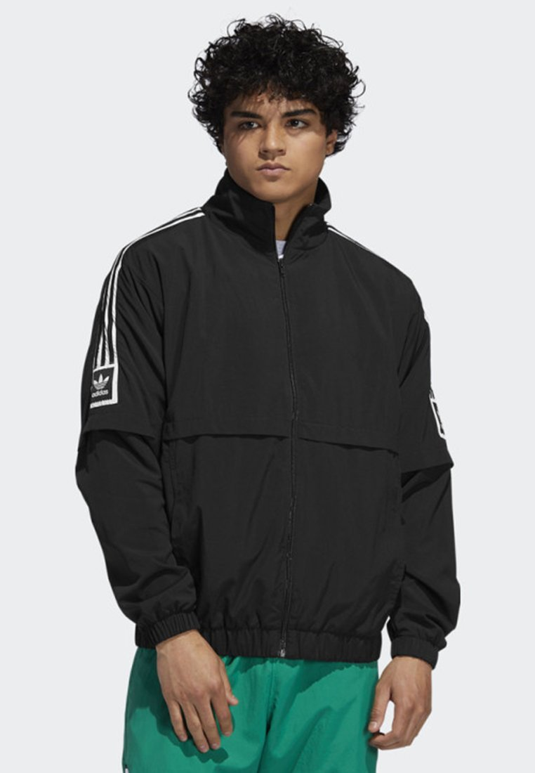 adidas Originals - STANDARD 20 JACKET - Summer jacket - black