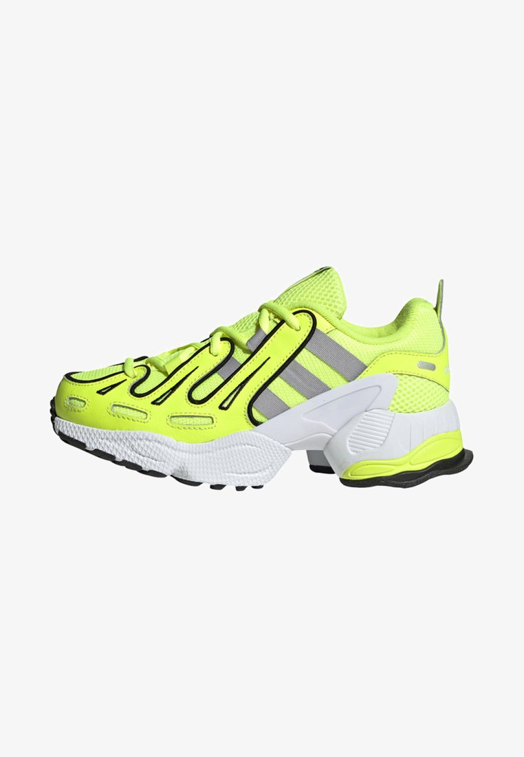 adidas Originals - EQT GAZELLE SHOES - Baskets basses - yellow/silver/black