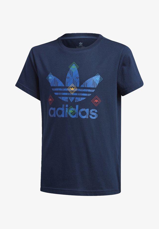 T-SHIRT - T-shirt con stampa - blue
