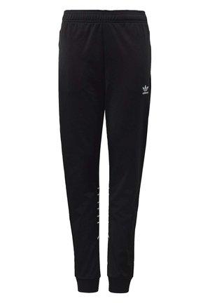 LARGE TREFOIL TRACKSUIT BOTTOMS - Pantalon de survêtement - black