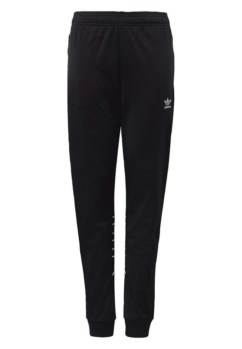 adidas Originals - LARGE TREFOIL TRACKSUIT BOTTOMS - Verryttelyhousut - black