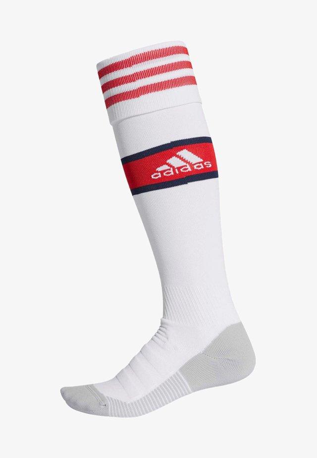 ARSENAL HEIM  - Jalkapallosukat - white/scarlet