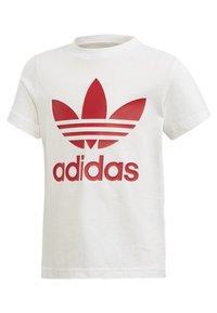 adidas Originals - TREFOIL SHORTS TEE SET - Shorts - red/white - 1