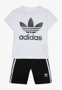 adidas Originals - TREFOIL SHORTS TEE SET - Short - black/white - 0