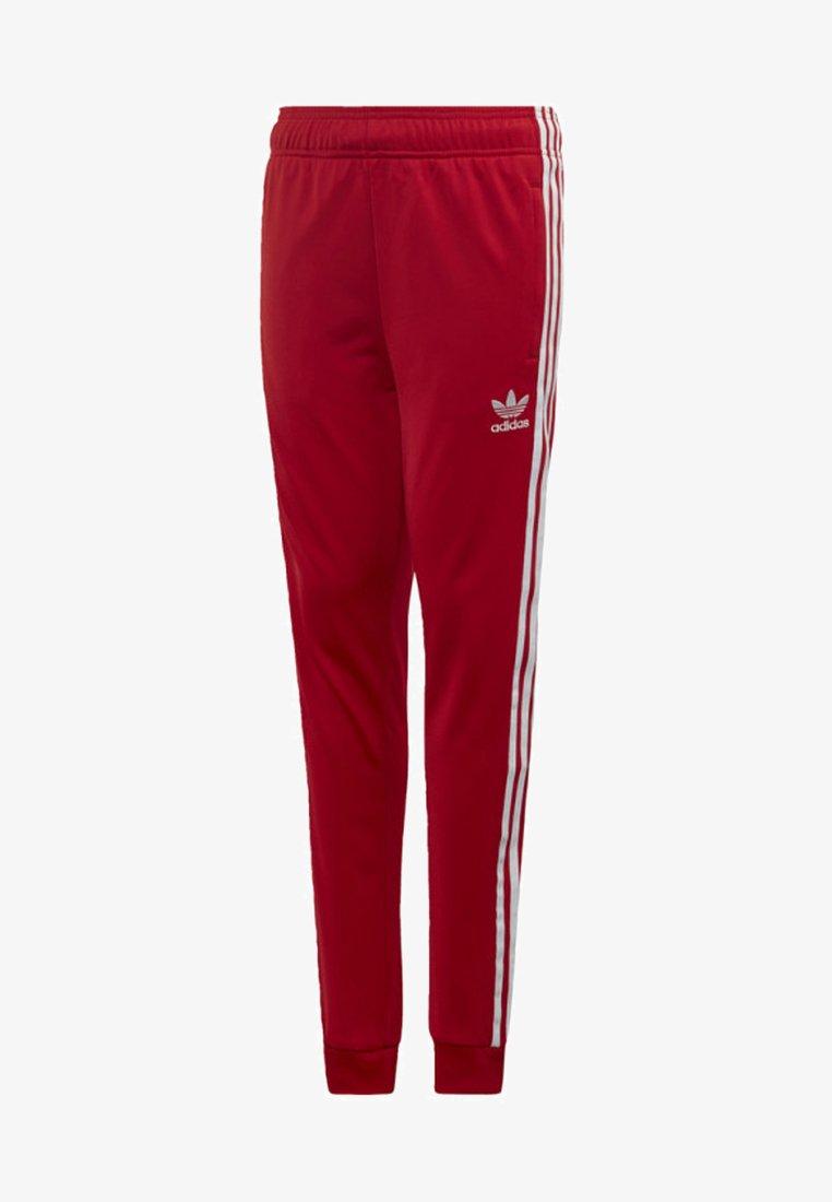 adidas Originals - SST TRACKSUIT BOTTOMS - Verryttelyhousut - red