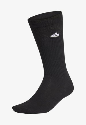 SUPER SOCKS - Sportsocken - black