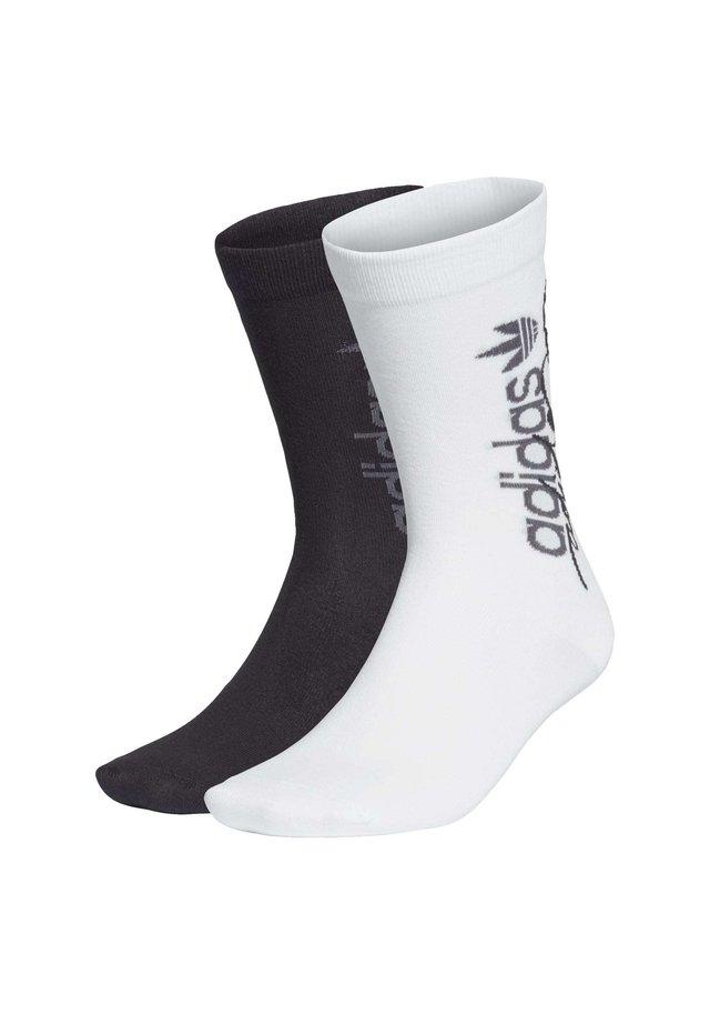 R.Y.V. THIN CREW SOCKS 2 PAIRS - Calze sportive - white
