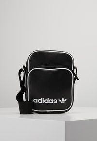 adidas Originals - MINI BAG VINT - Skulderveske - black - 0