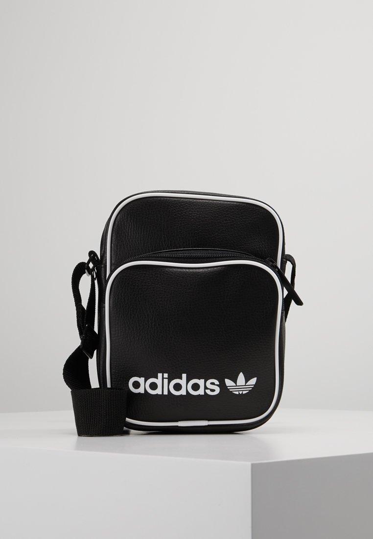 adidas Originals - MINI BAG VINT - Skulderveske - black
